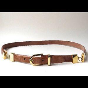 Talbots belt | leather belt | vintage